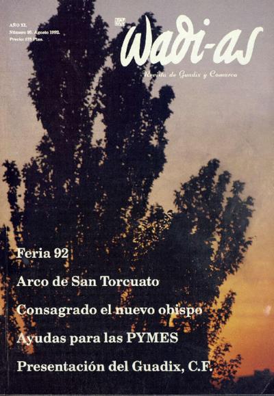 Wadi-as : informativo comarcal: Año XI Número 95 - 1992 agosto 1