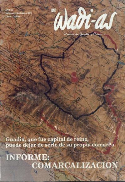 Wadi-as : informativo comarcal: Año XI Número 97 - 1992 noviembre 1