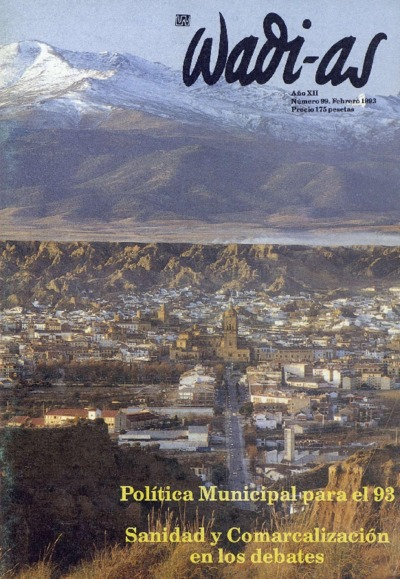 Wadi-as : informativo comarcal: Año XII Número 99 - 1993 febrero 1