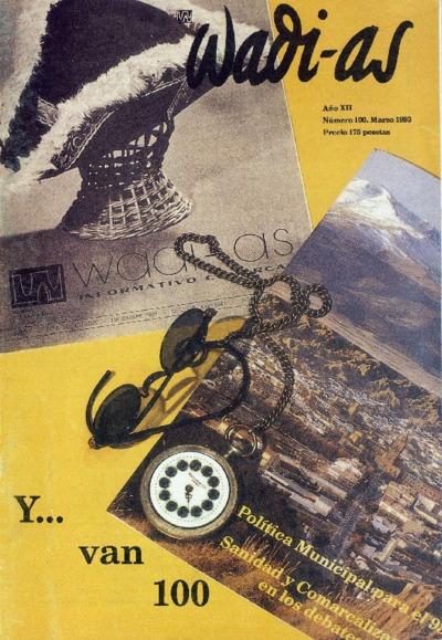 Wadi-as : informativo comarcal: Año XII Número 100 - 1993 marzo 1