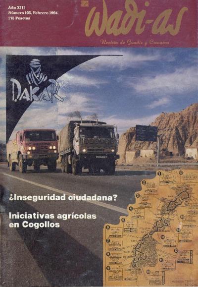 Wadi-as : informativo comarcal: Año XIII Número 105 - 1994 febrero 1
