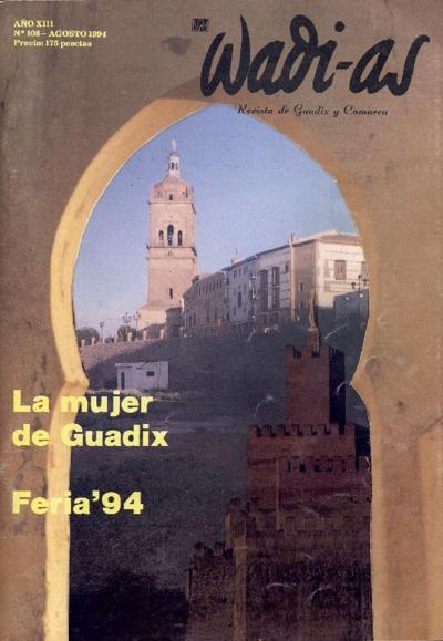 Wadi-as : informativo comarcal: Año XIII Número 108 - 1994 agosto 1