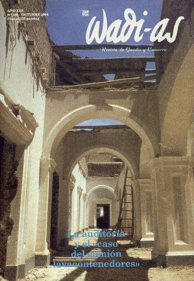Wadi-as : informativo comarcal: Año XIII Número 109 - 1994 octubre 1