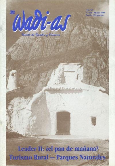Wadi-as : informativo comarcal: Año XV Número 116 - 1996 marzo 1