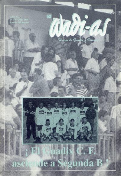 Wadi-as : informativo comarcal: Año XV Número 119 - 1996 julio 1
