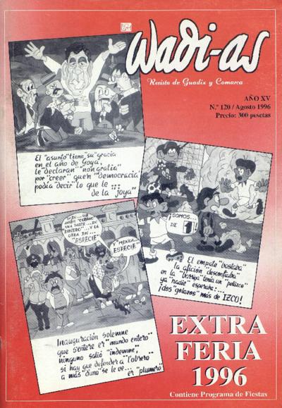 Wadi-as : informativo comarcal: Año XV Número 120 - 1996 agosto 1