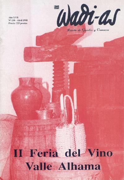 Wadi-as : informativo comarcal: Año XVII Número 130 - 1998 abril 1