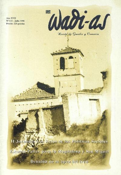 Wadi-as : informativo comarcal: Año XVII Número 132 - 1998 julio 1