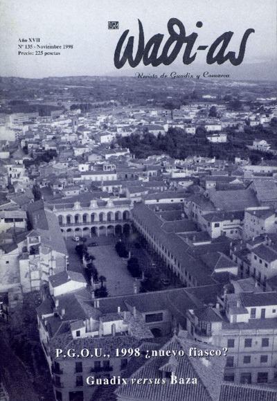 Wadi-as : informativo comarcal: Año XVII Número 135 - 1998 noviembre 1