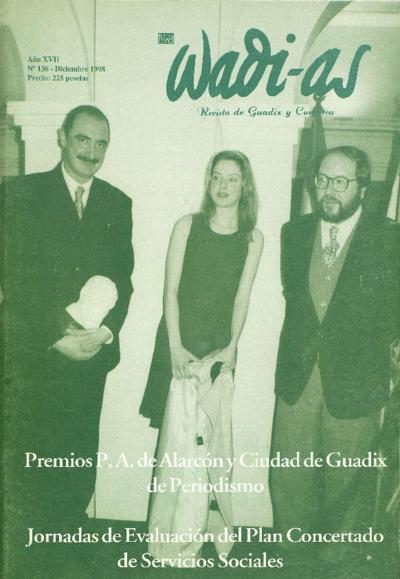 Wadi-as : informativo comarcal: Año XVII Número 136 - 1998 diciembre 1