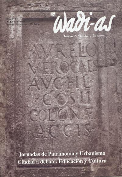 Wadi-as : informativo comarcal: Año XVIII Número 138 - 1999 mayo 1