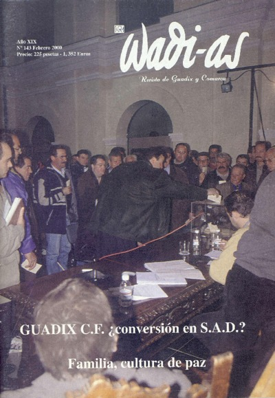 Wadi-as : informativo comarcal: Año XIX Número 143 - 2000 febrero 1