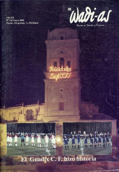 Wadi-as : informativo comarcal: Año XX Número 148 - 2001 enero 1