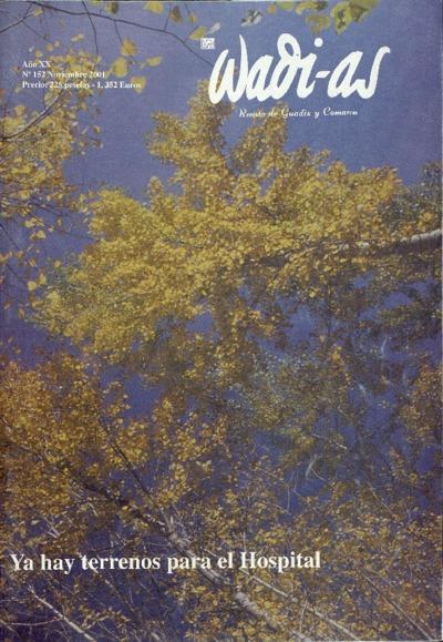 Wadi-as : informativo comarcal: Año XX Número 152 - 2001 noviembre 1