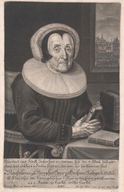 Bildnis Magdalena Negges