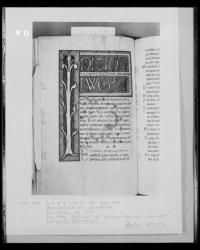 Ms. 363 (Evangeliar aus Averbode) — Ms. 363 (Evangeliar aus Averbode), Folio 57versoBuchseite