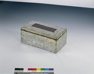 Kastenförmiger Tragaltar und Reliquienbehälter