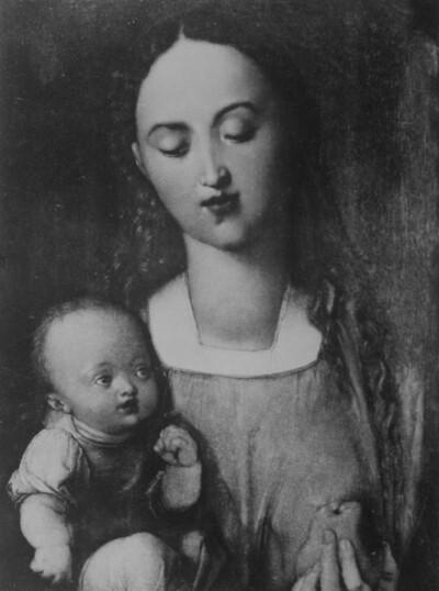 Die Madonna mit der Birne
