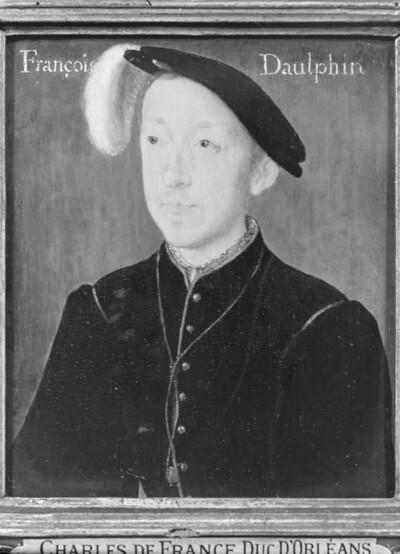 Porträt von Charles de France, Herzog von Orléans