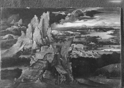 Landschaft mit dem heiligen Hieronymus