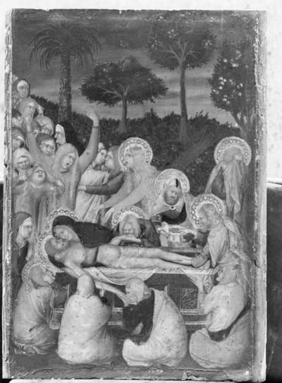 Passionstriptychon — Grablegung Christi