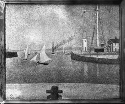 Hafeneinfahrt von Honfleur