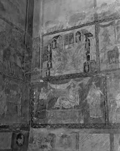 Szenen aus dem Alten Testament — Westwand — Moses lässt zwölf Quellen entspringen, die die zwölf Stämme Israels versorgen (Num 21,16-18)