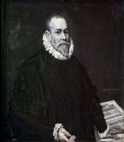 Portrait des Arztes Don Rodrigo de la Fuente