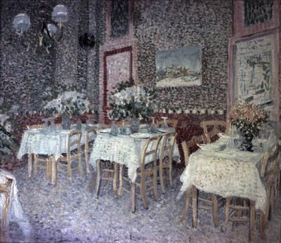 Interieur eines Restaurants