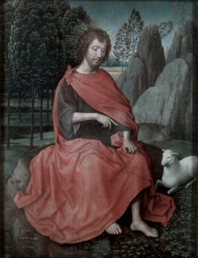 Diptychon — Johannes der Täufer