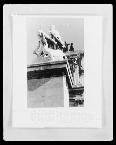 Monumento a Vittorio Emanuele II & Altare della Patria & Nationaldenkmal & Altar des Vaterlandes — Skulpturengruppe