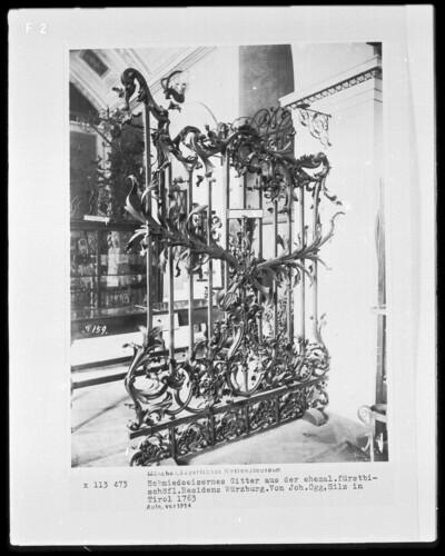 Gitter aus der Würzburger Residenz