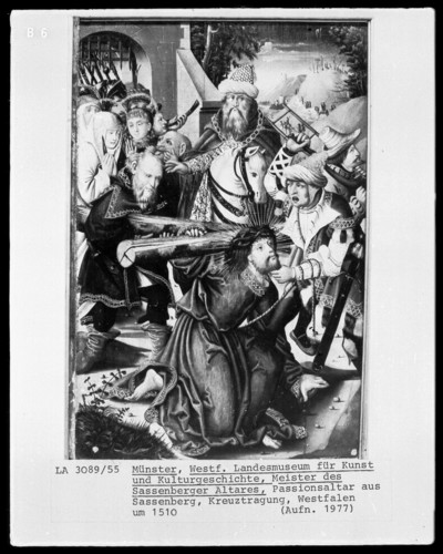 Sassenberger Altar — Passion Christi — Kreuztragung