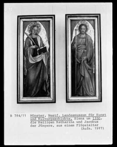 Zwei Altarflügel