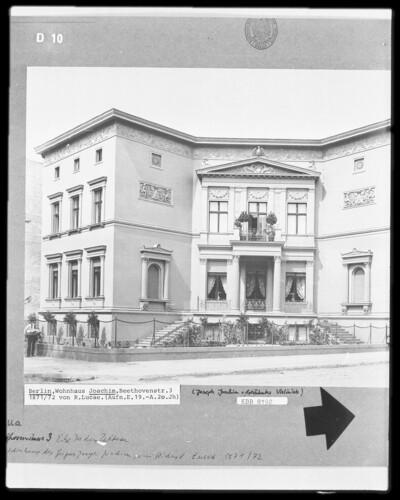 Wohnhaus Joachim, Berlin, Beethovenstraße 3