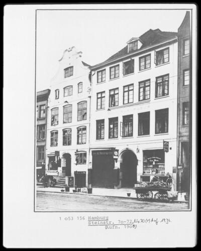 Wohnhaus, Hamburg - Altstadt (Hamburg), Steinstraße 70-72