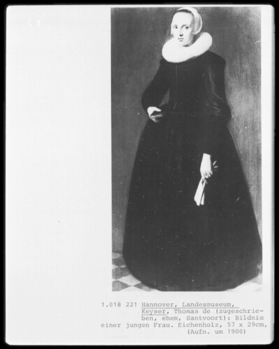 Bildnis einer jungen Frau