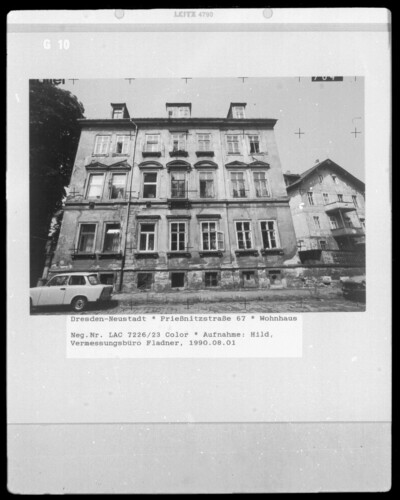 Wohnhaus, Dresden - Neustadt (Dresden), Prießnitzstraße 67