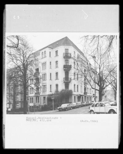 Wohnhaus, Kassel, Reginastraße 1