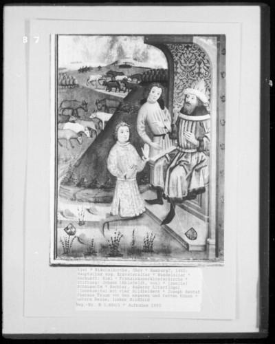 Joseph deutet den Traum des Pharaos von den mageren und fetten Kühen
