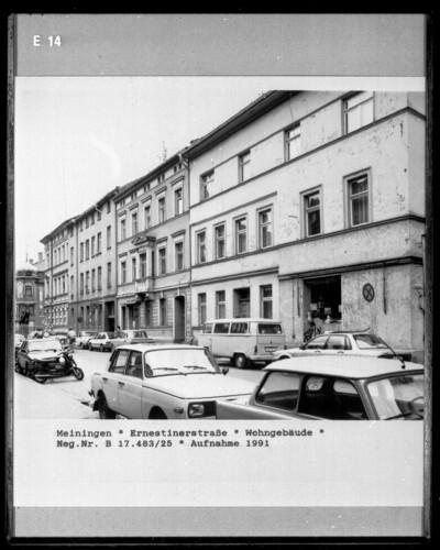 Wohnhaus, Meiningen, Ernestinerstraße