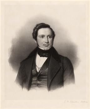 Porträt Eduard Heinrich Schroeder (1805 - 1849).