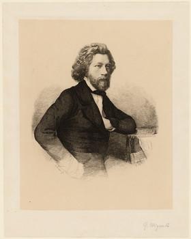 Porträt Georg Wigand (1808 - 1858).