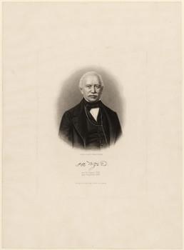 Porträt Otto Wigand (1795 - 1870).