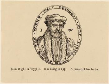 Porträt John Wight (gest. 1589).