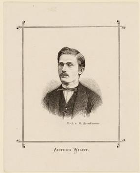 Porträt Arthur Wildt (1847 - 1870).