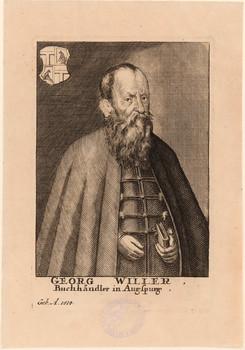 Porträt Georg Willer (1514 - 1593).
