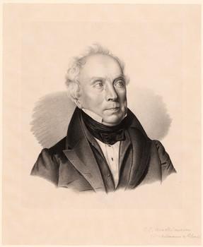 Porträt Johann Christian Winckelmann (1766 - 1845).