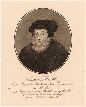 Porträt Andreas Winckler (1498 - 1575).