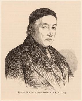 Porträt Christian Friedrich Winter (1773 - 1858).
